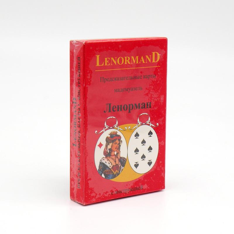 Предсказательные карты мадемуазель Ленорман (36 карт, инструкция)