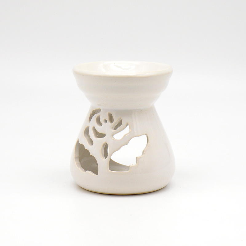 Аромалампа керамика роза