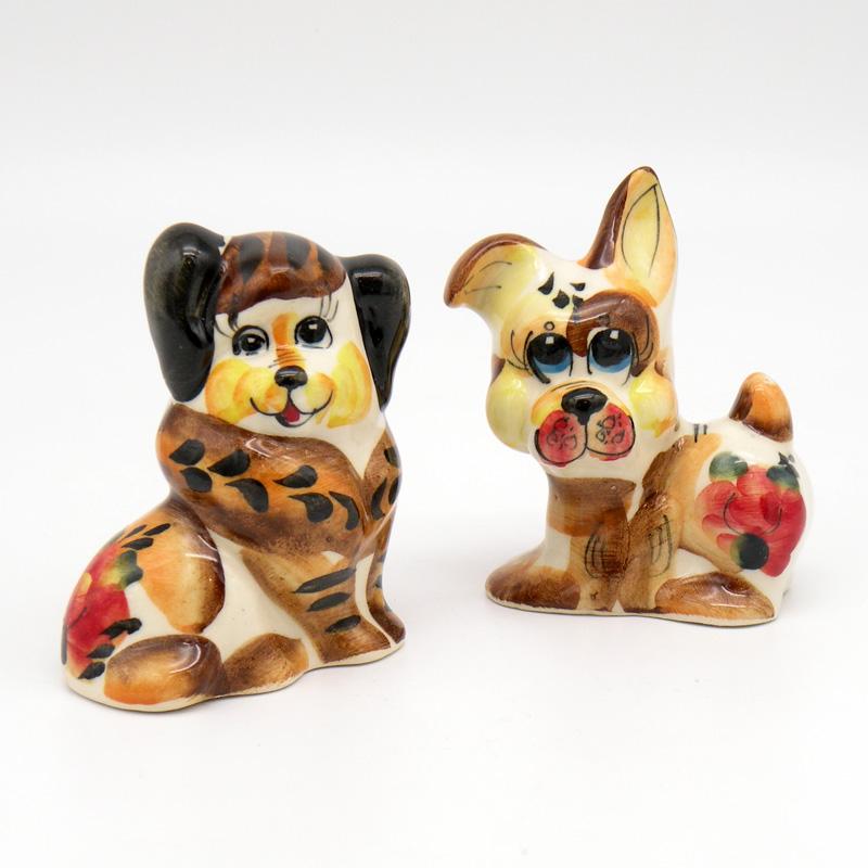 Собачка, фаянс, 2018 – год собаки
