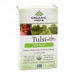 Organic India, чай Туласи (Tulsi), листья органической моринги (18 пакетиков) (32.4 г) без кофеина