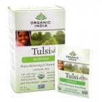 Organic India, чай Туласи (Tulsi), листья органической моринги (18 пакетиков) (32.4 грамм)