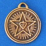 Амулет N 19 - ХРИСТИАНСКИЙ СИМВОЛ ВЕРА — НАДЕЖДА — ЛЮБОВЬ