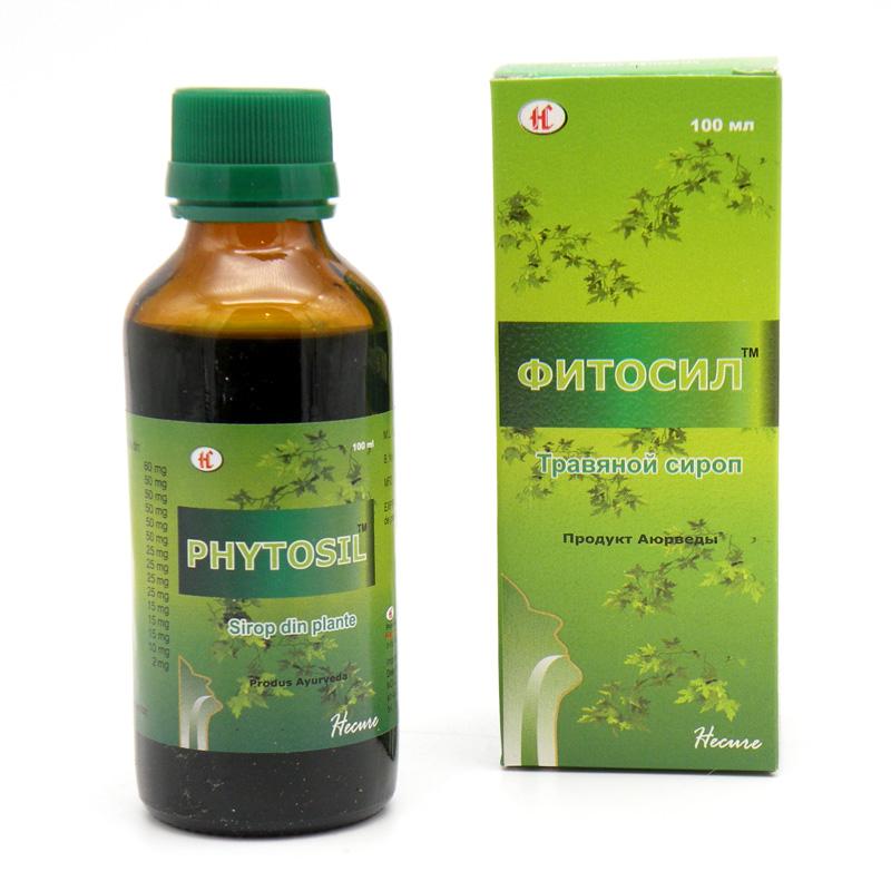 Фитосил, травяной сироп, 100 мл.