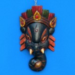 Маска Ганеша, маска божества Яма