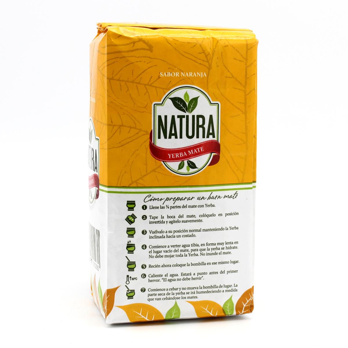 Мате Natura Sabor Naranja (с апельсином) (неочищенный)