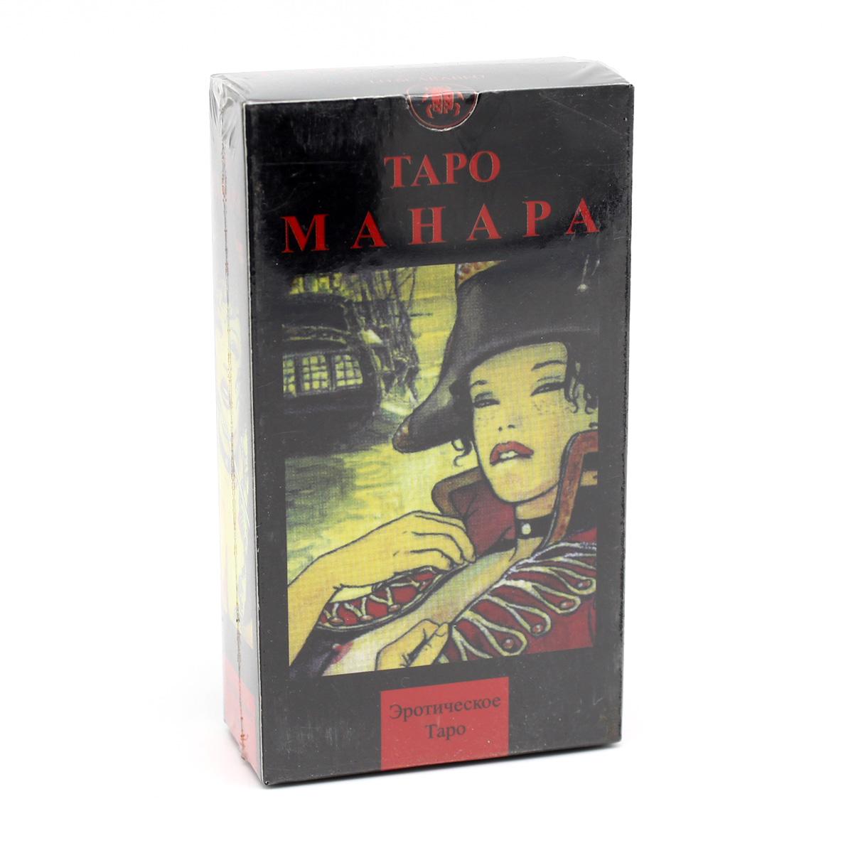 Таро Манара, ANKH, 78 карт, брошюра