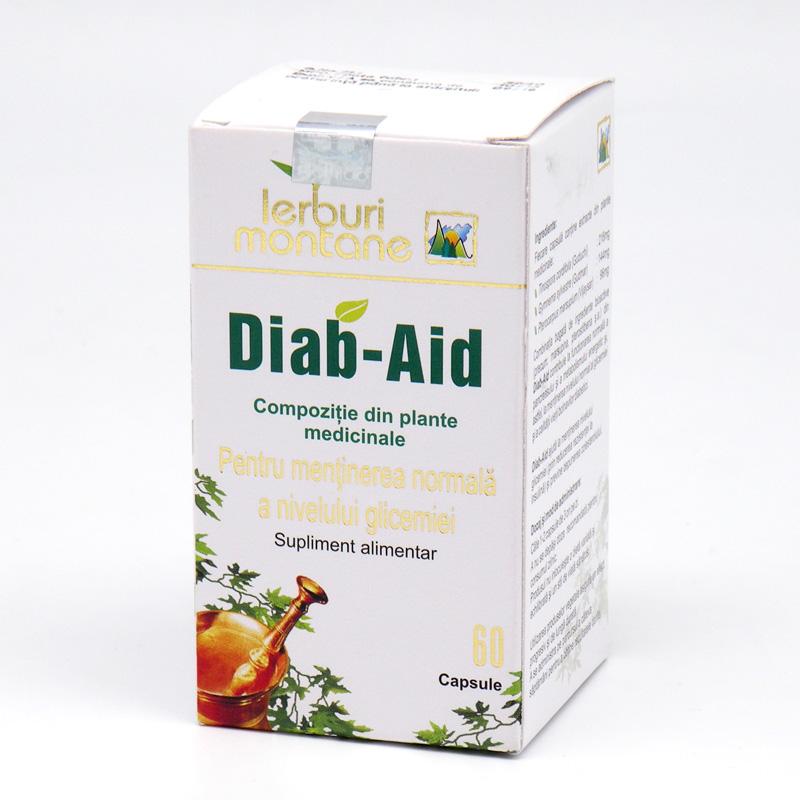 «Диаб-Эйд» - регулятор уровня сахара в крови