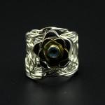 Кольцо, серебро, 8.49 грамм, проба 925, размер 16.5