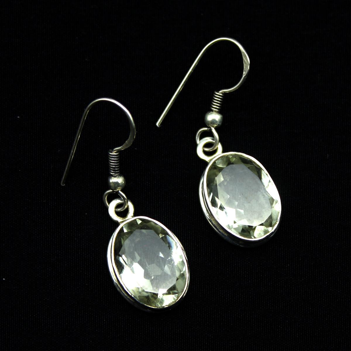 Серьги, серебро, натуральный камень, 6.01 грамм, проба 925