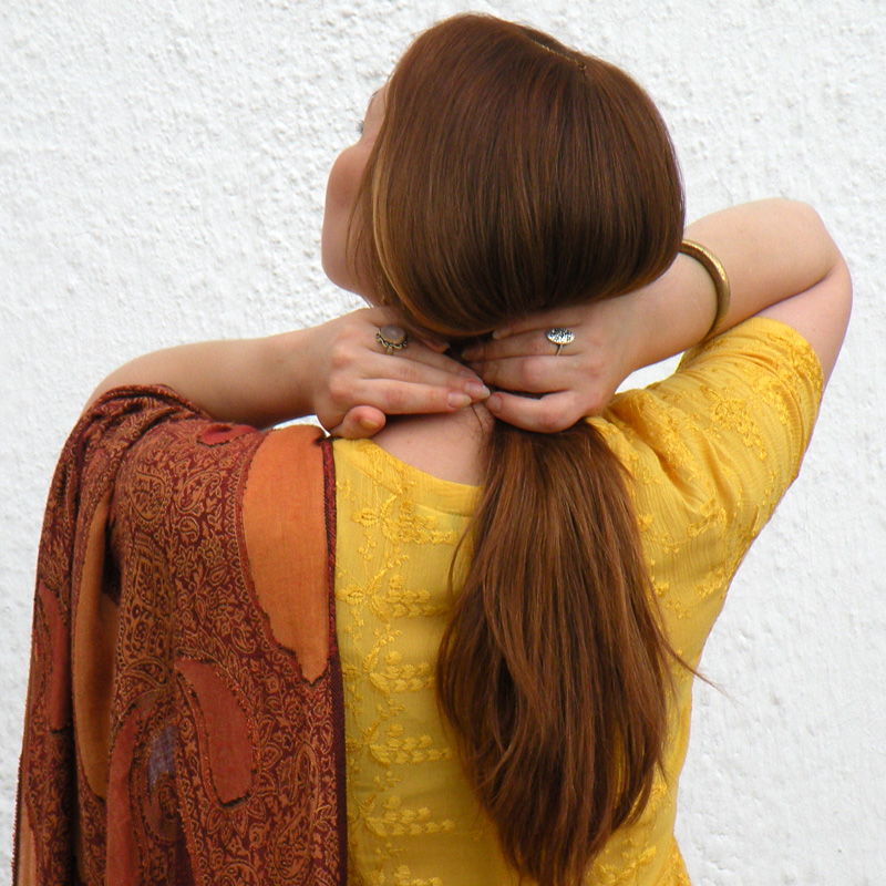 Хна для волос, на основе лечебных трав
