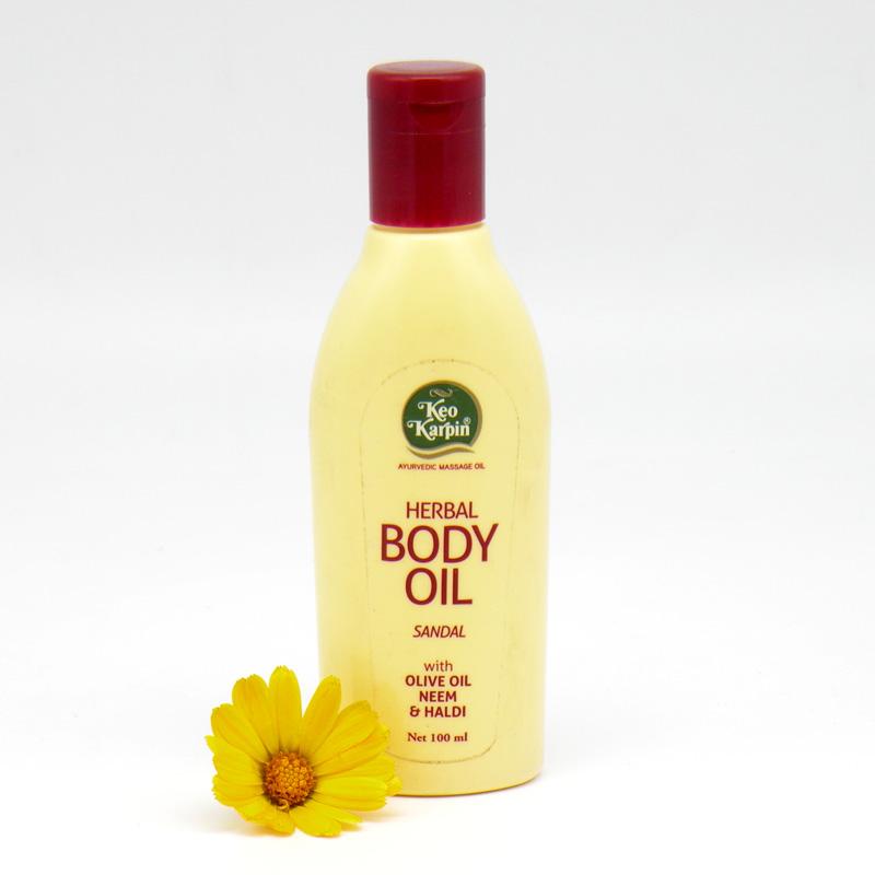 Массажное аюрведическое травяное масло для тела