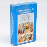 Lenormand-54 Астро-мифологическая большая колода Марии Ленорман с инструкцией