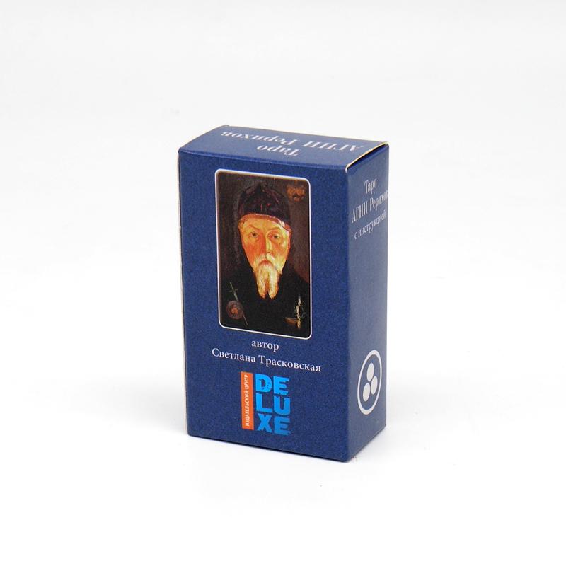 Таро Агни Рерихов, 78 карт, мини, карманный вариант, 7.5 см х 4.5 см