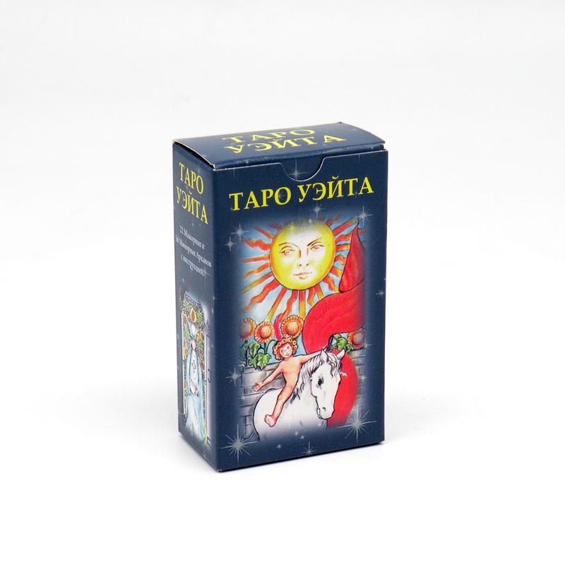 Таро Уэйта. Посвятительные указания, 78 карт, мини, карманный вариант, 7.5 см х 4.5 см