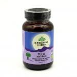 Organic India, Тулси-базилик священный (Tulsi Holy Basil) (90 растительных капсул)
