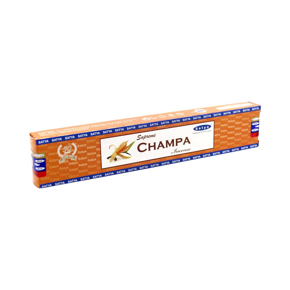 Satya Supreme Ногчампа (Nagchampa) классические благовония