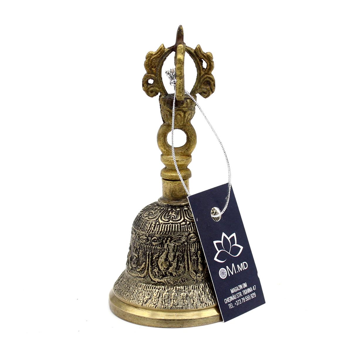 Тибетский поющий колокол, бронза