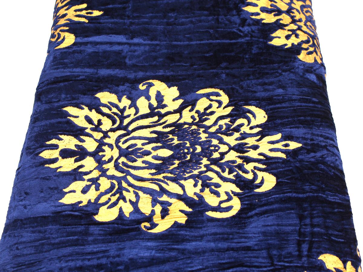 Комплект постельного белья люкс King Size, покрывало, 4 наволочки, велюр