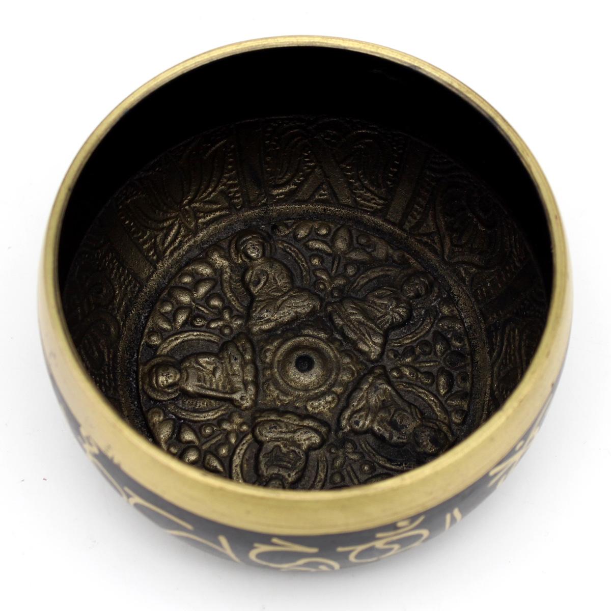 Тибетская поющая чаша (с деревянным пестом)