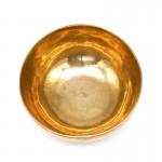 Кованная поющая чаша (с деревянным пестом)