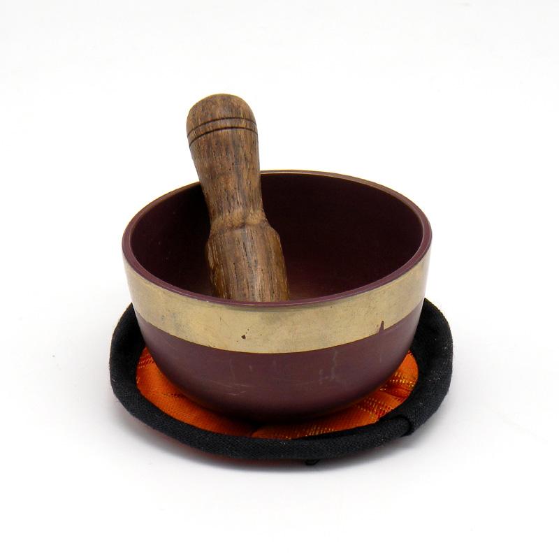Поющая чаша 7 чакр (с деревянным пестом)