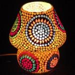 СКИДКА 30%! Светильник с мозаикой ручной работы