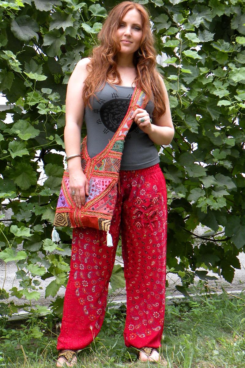 Индийские штаны, женские