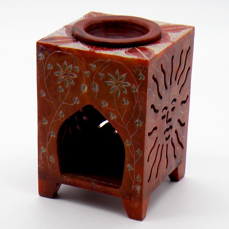 Аромалампа из мыльного камня