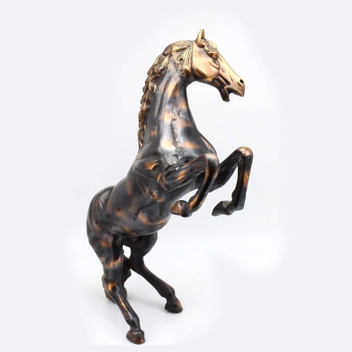 Праздничная лошадь, силумин