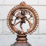 Бог Шива Натараджа (господин танца), силумин
