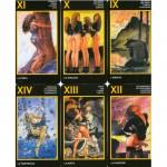 Таро Манара, бельгийское издательство ANKH, 78 карт, брошюра