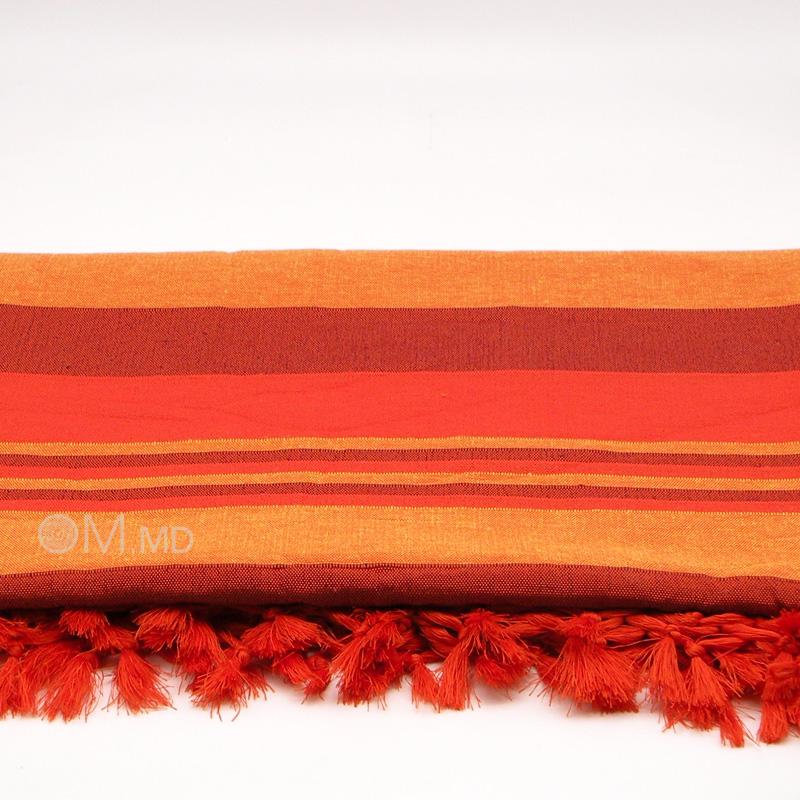 Покрывало Kerala, Orange, 65% хлопок, 35% полиэстер