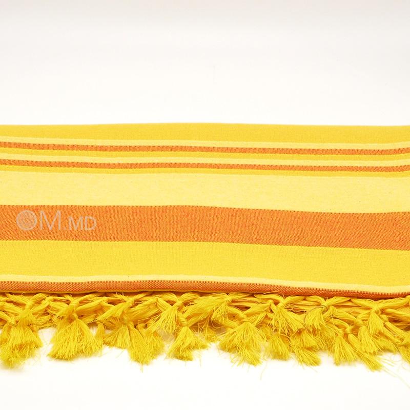 Покрывало Kerala, Yellow, 65% хлопок, 35% полиэстер
