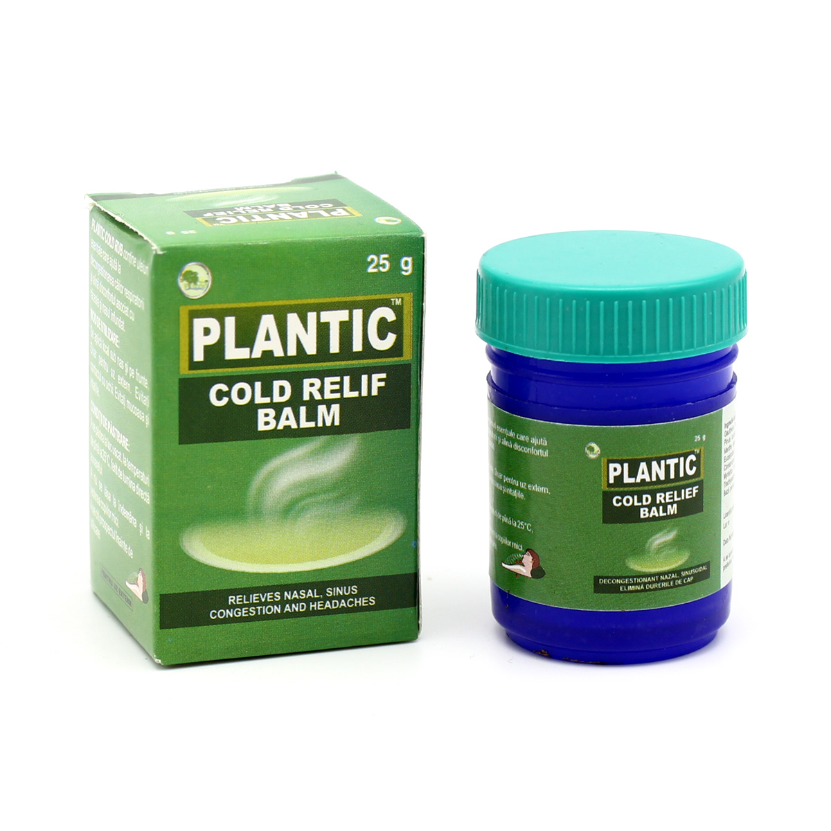 Плантик Колд Раб мазь от простуды (Cold Rub) 25 г