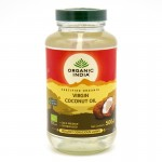 Organic India, кокосовое масло (500 мл.)