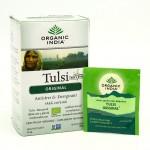 Organic India, оригинальный чай Туласи (Tulsi), без кофеина (18 пакетиков) (32.4 г)