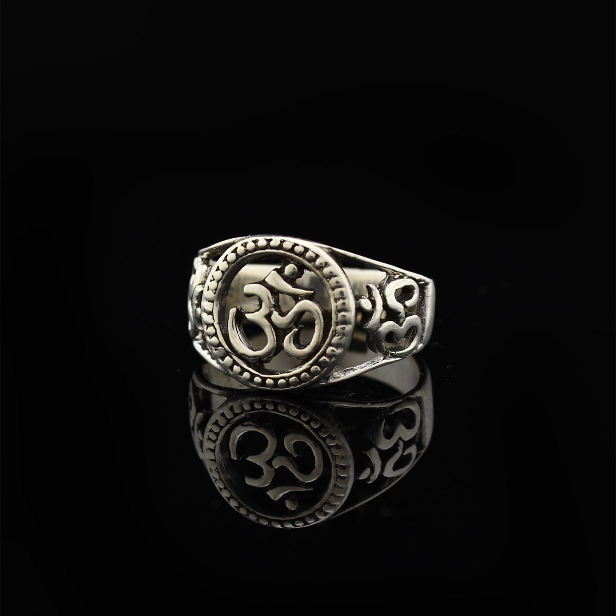Кольцо, серебро, 5.1 г, проба 875, размер 17.5