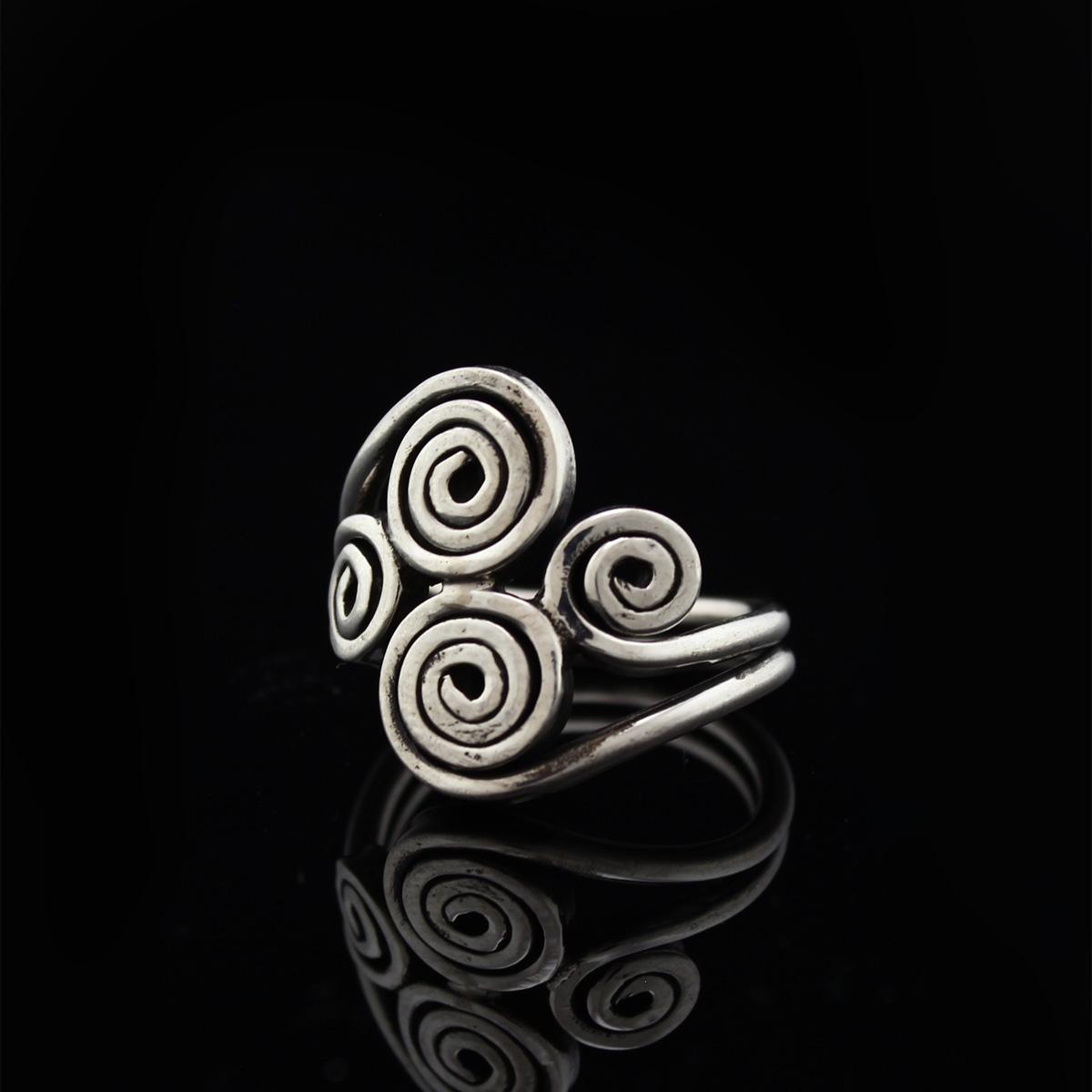 Кольцо, серебро, 8.0 г, проба 875, размер 18.5