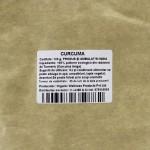 Куркума (Curcuma Turmeric) порошок, природный антиоксидант и антибиотик, 100 г, Organic Wellness